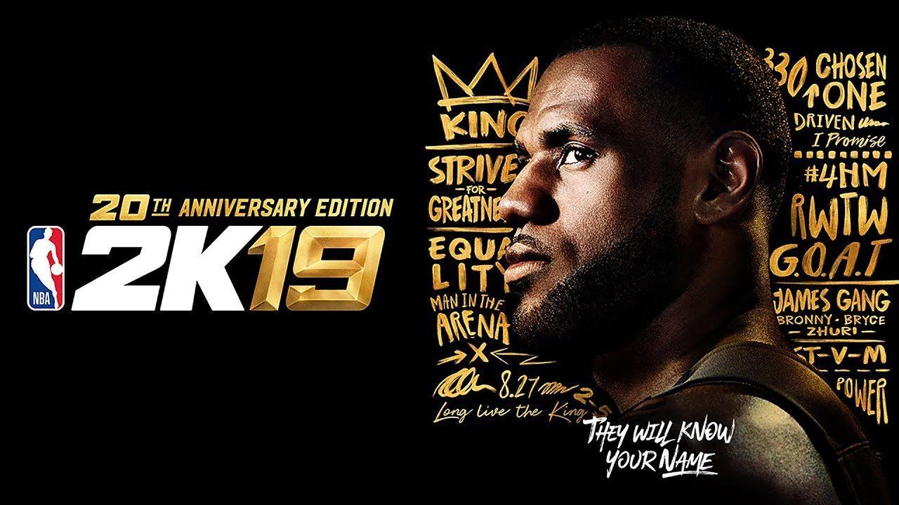 NBA 2K19 20th Anniversary Edition ufficiale: 2K Games lo annuncia con le parole di LeBron James
