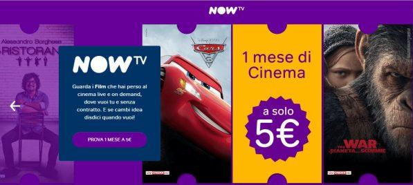 Now TV lancia due buone offerte senza vincoli per gli amanti della serie TV e Cinema estivi