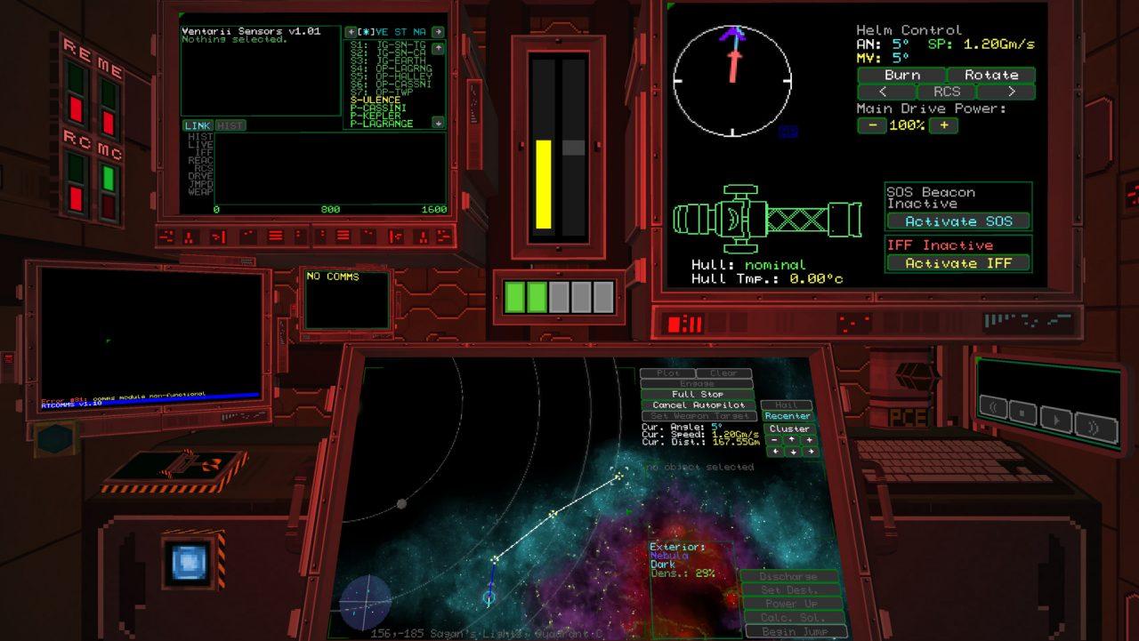 Objects in Space è un gioco spaziale di azione e furtività in stile retrò disponibile da oggi su Steam