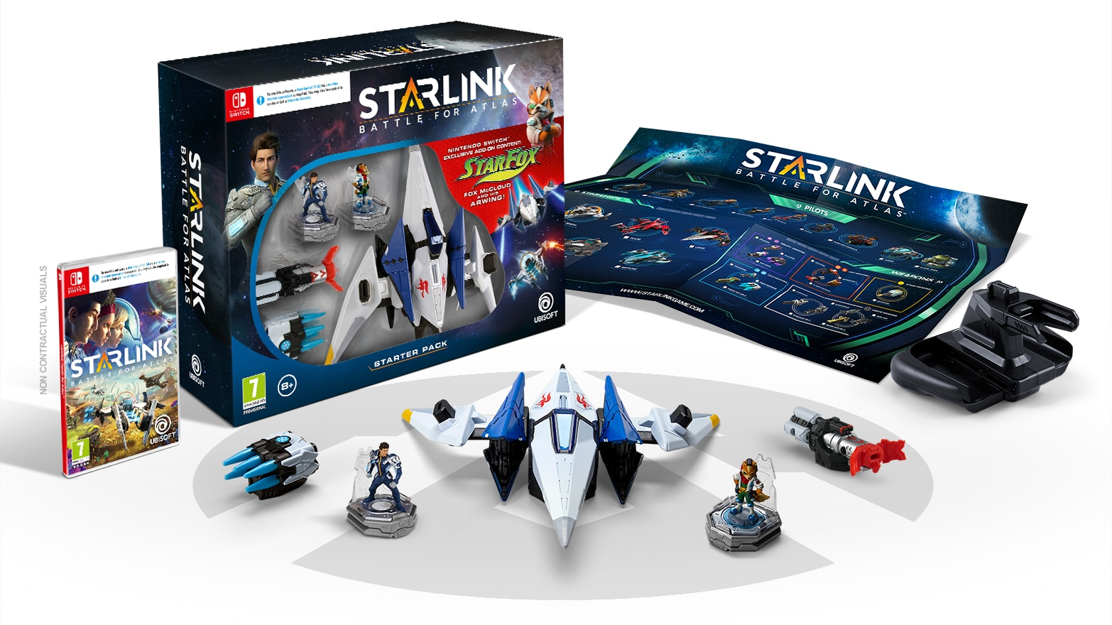 Starlink battle for atlas il toys to life di ubisoft for Le navicelle spaziali