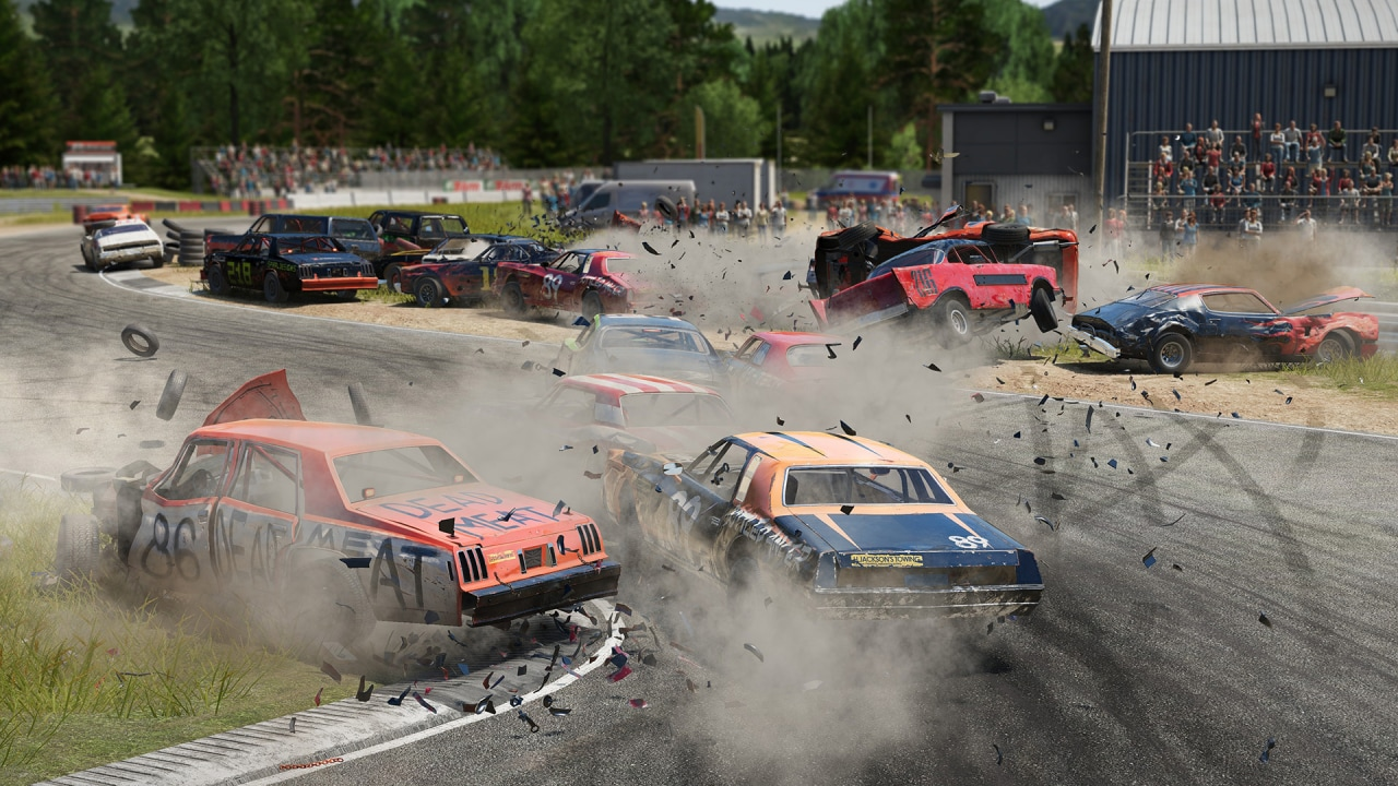 Wreckfest si prepara a raccogliere l'eredità spirituale di Destruction Derby: tra una settimana sbarca su PC