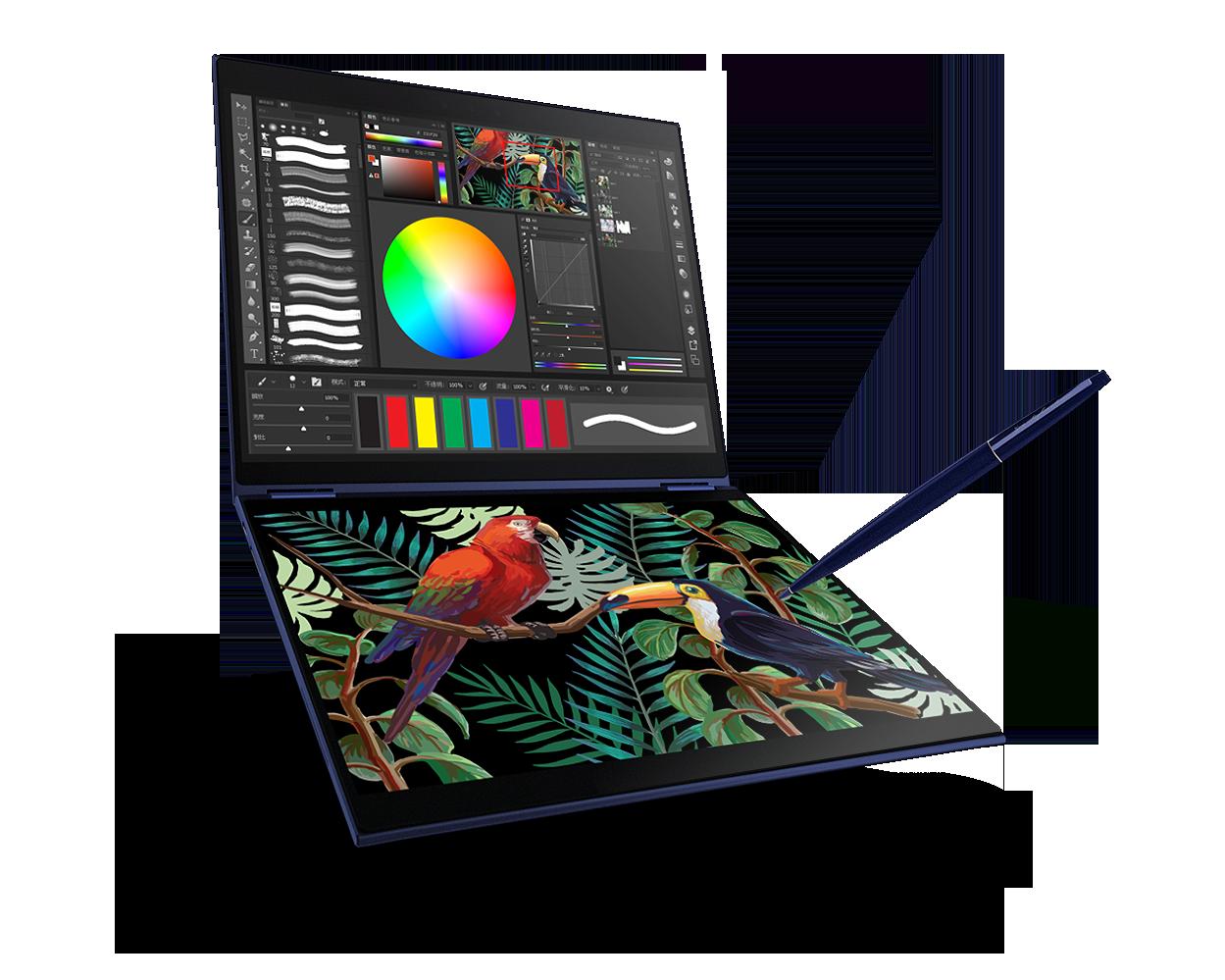 ASUS Project Precog è il PC del futuro: due schermi, nessuna tastiera, e ovviamente tanta AI! (foto)