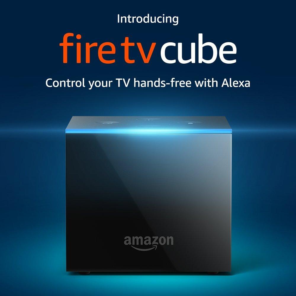 Amazon presenta Fire TV Cube in USA: con Alexa non serve nemmeno il telecomando (foto)