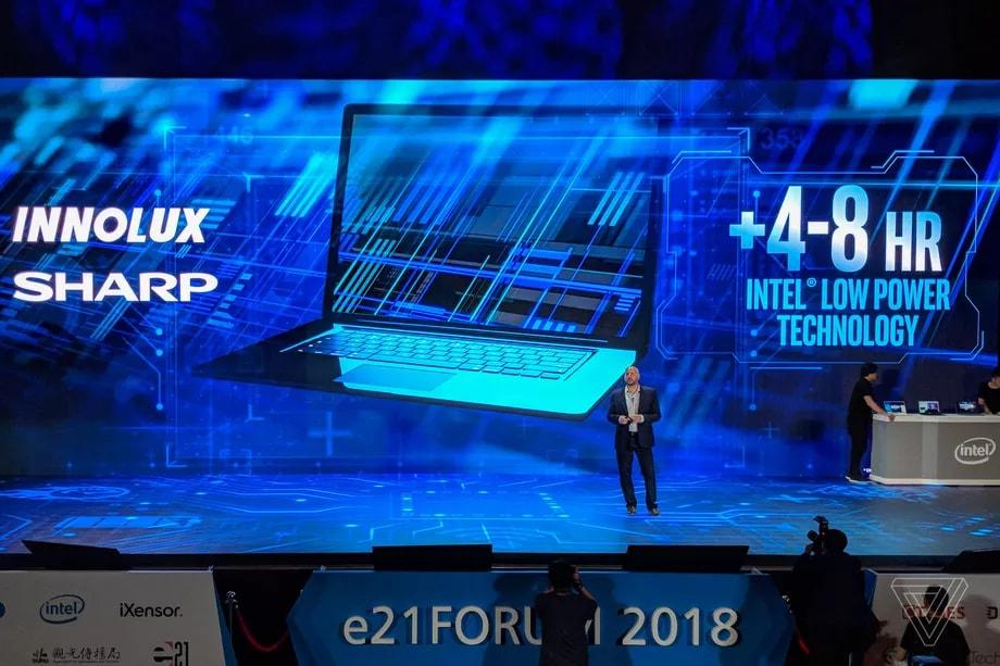 Intel promette di dimezzare il consumo dei display e noi vogliamo crederle