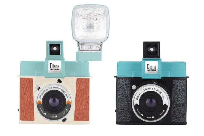 Lomo Diana Instant Square sbarca su Kickstarter: obiettivi intercambiabili per liberare la creatività (foto)