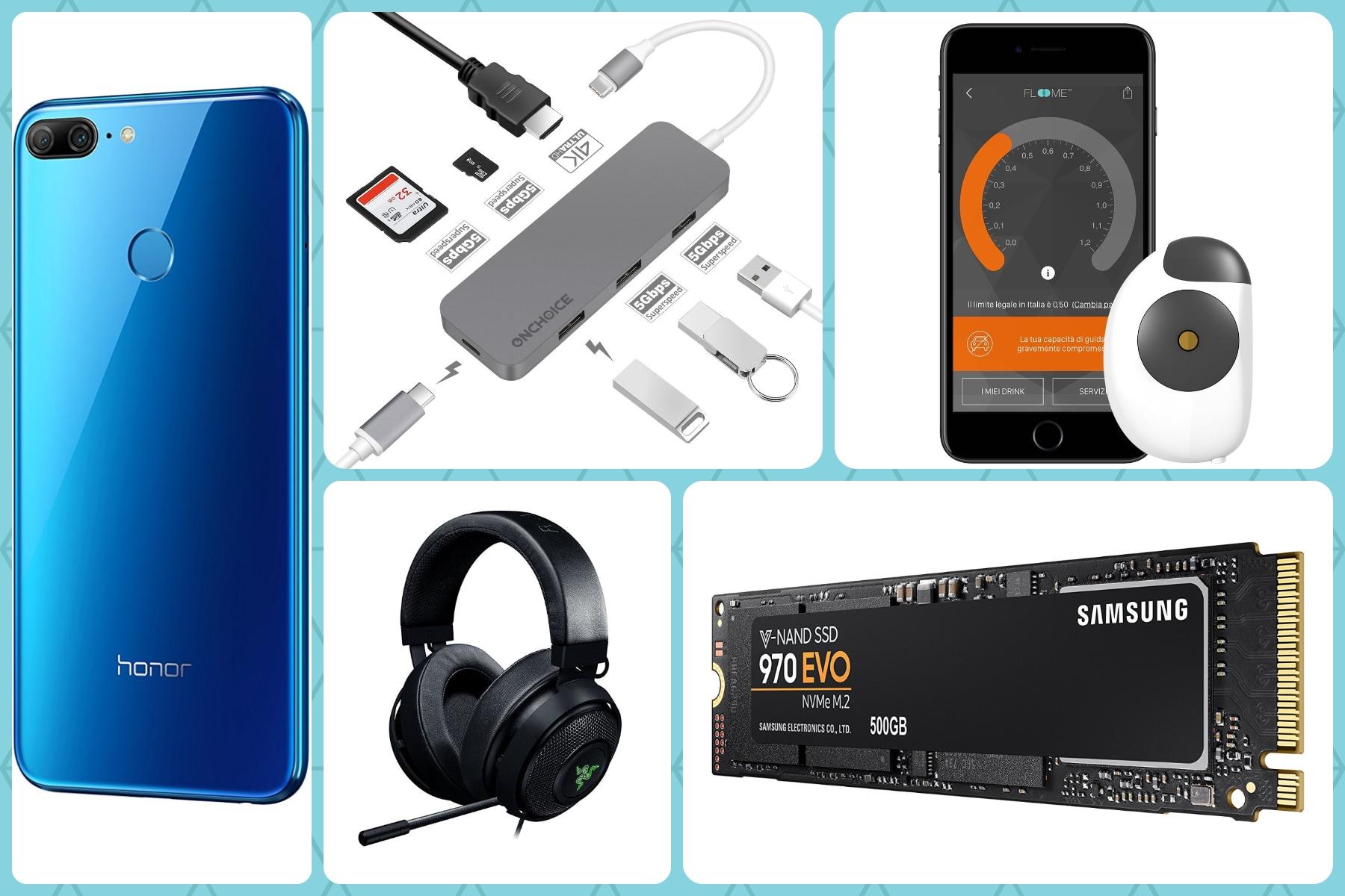 Su Amazon vi aspetta coupon per Yi Discovery e sconti su S9, Redmi 5 Plus e tanta altra tech - image migliori-offerte-amazon-8-giugno-2018 on http://www.zxbyte.com