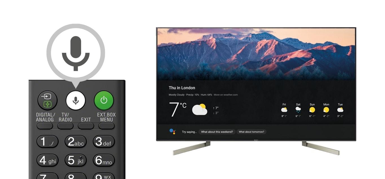 sony porter google assistant sulla sua linea di android. Black Bedroom Furniture Sets. Home Design Ideas