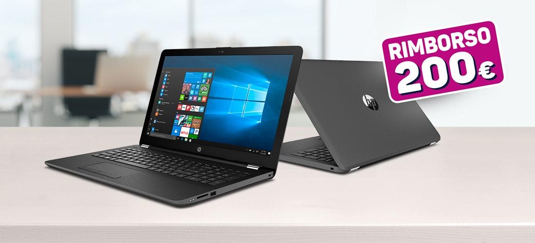 Rottamazione notebook Unieuro: fino a 200€ di rimborso acquistando un HP in promozione