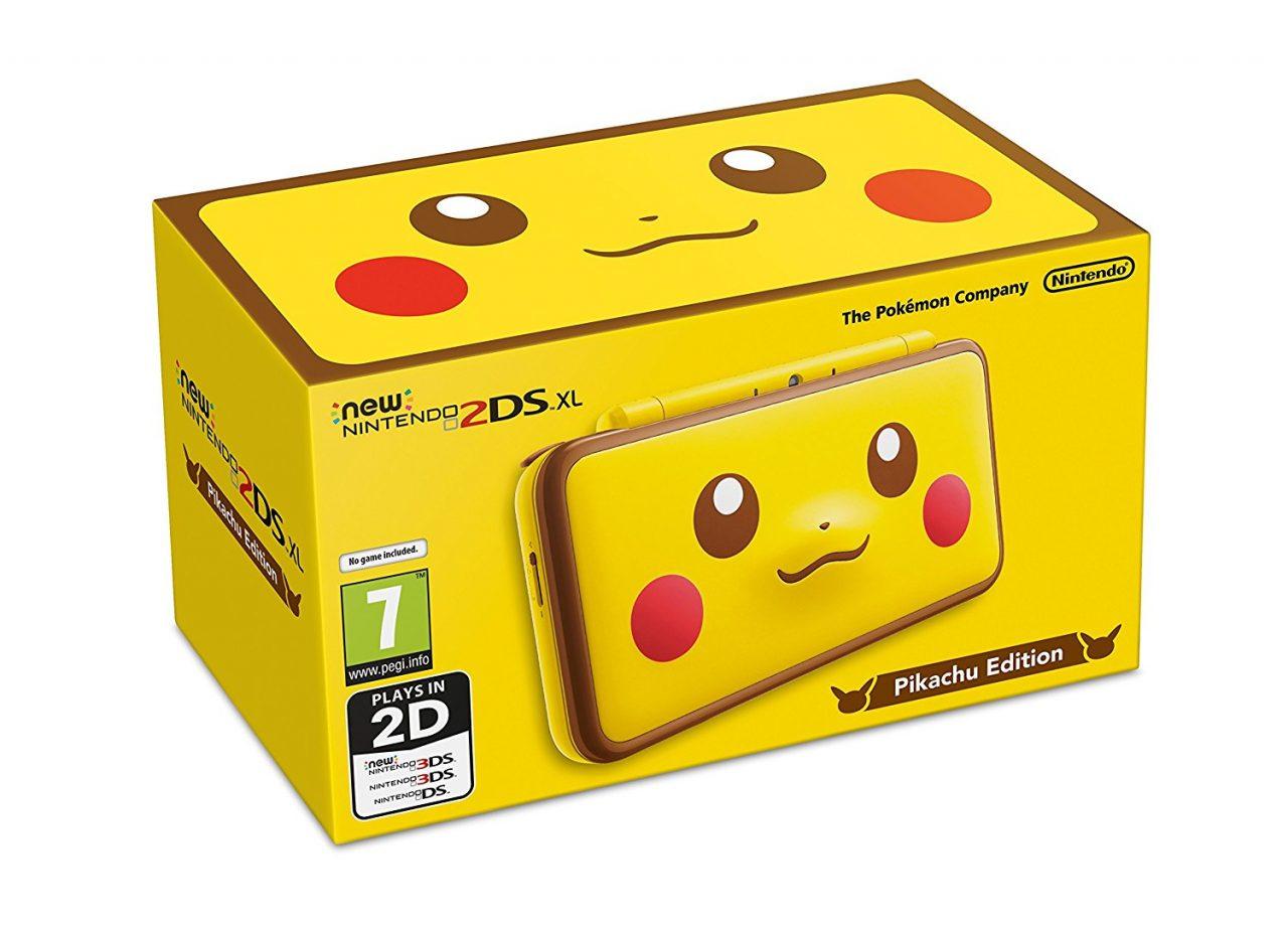 New Nintendo 2DS XL Poké Ball e Pikachu Edition, Pokémon Ultraluna e altri giochi in offerta su Amazon
