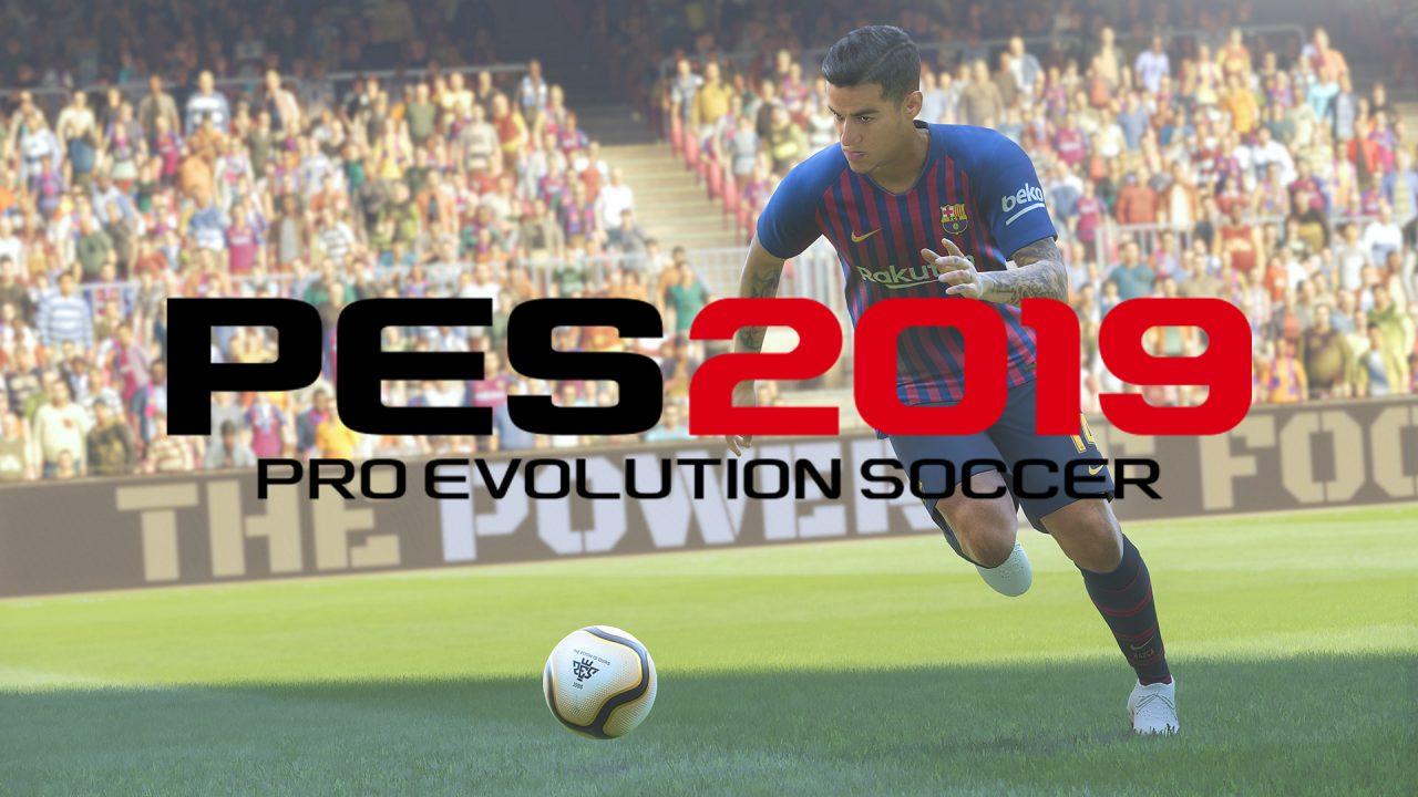 PES 2019 è ufficialmente disponibile all'acquisto: Coutinho e Beckham vi aspettano! (video)