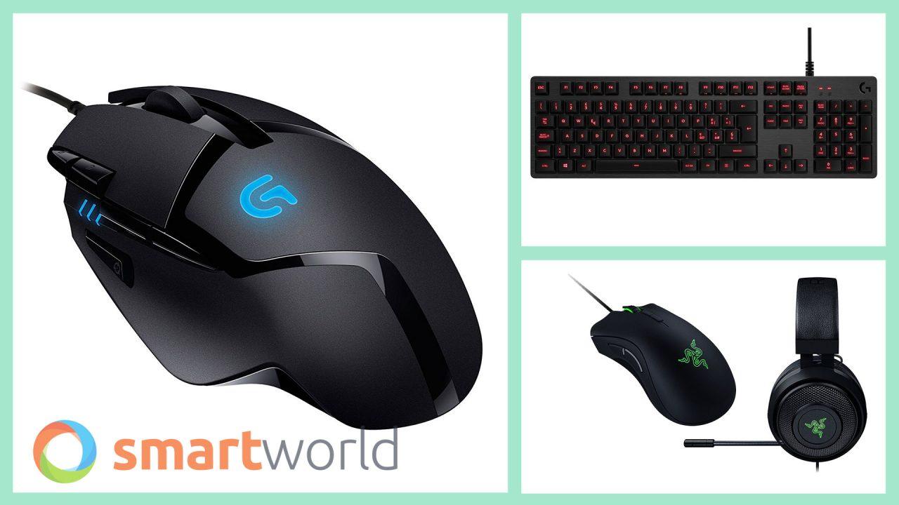 Migliori Mouse, Tastiere e Periferiche Prime Day 2018: Razer, Logitech e anche sedie gaming! (17 luglio)