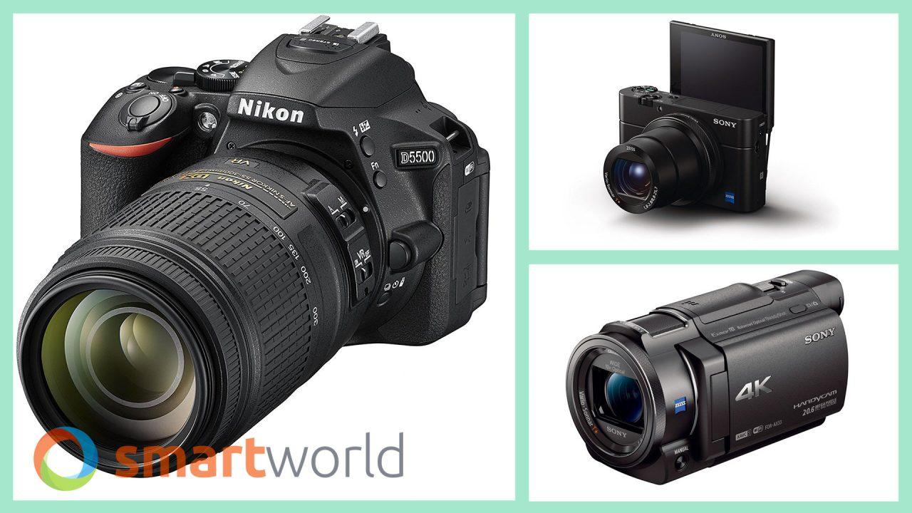 Migliori Fotocamere Prime Day 2018: mirrorless Sony e Canon, RX100 M4, DSLR Nikon (17 luglio)