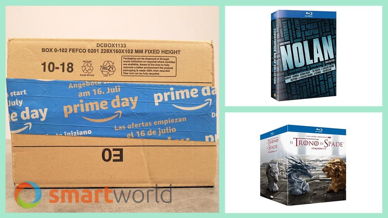 Migliori Film e Serie TV Prime Day 2018: Game of Thrones 1-7 a 59,99€, Cofanetto Nolan a 24,99€ (17 luglio)