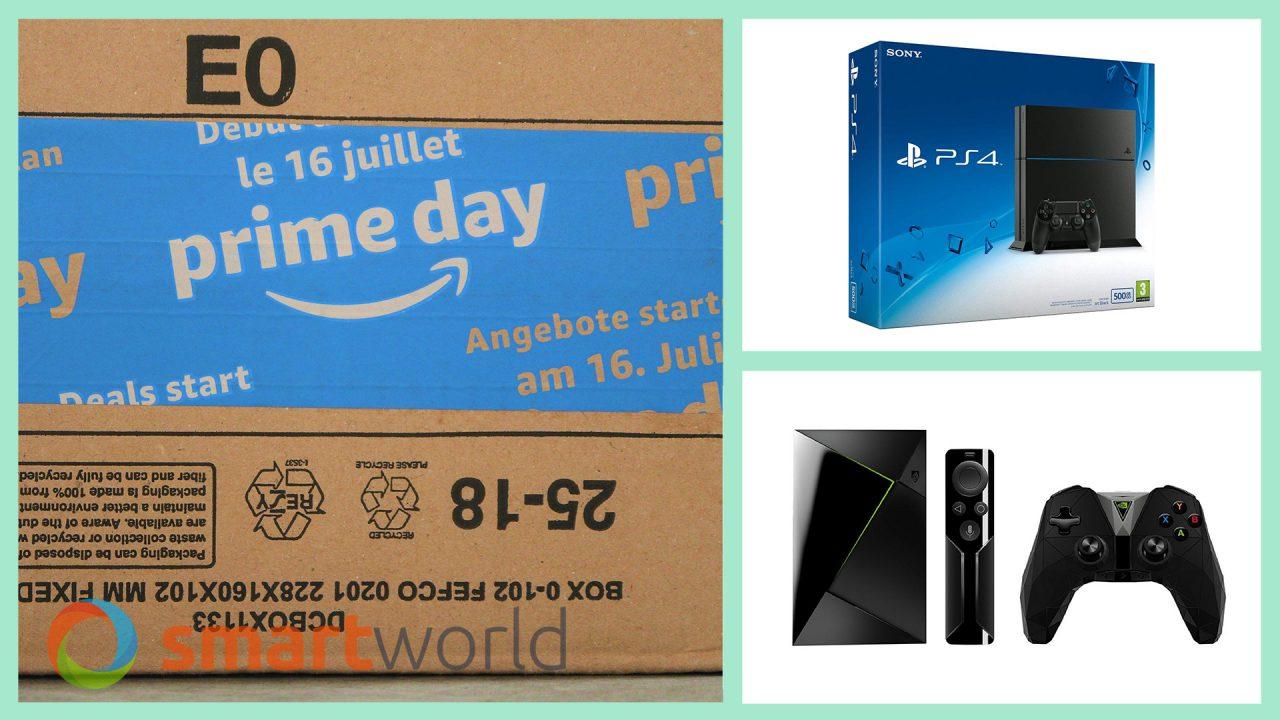 Migliori Videogiochi e Console Prime Day 2018: PS4 e Xbox One S a 199,99€ e giochi a partire da 13,99€ (17 luglio)