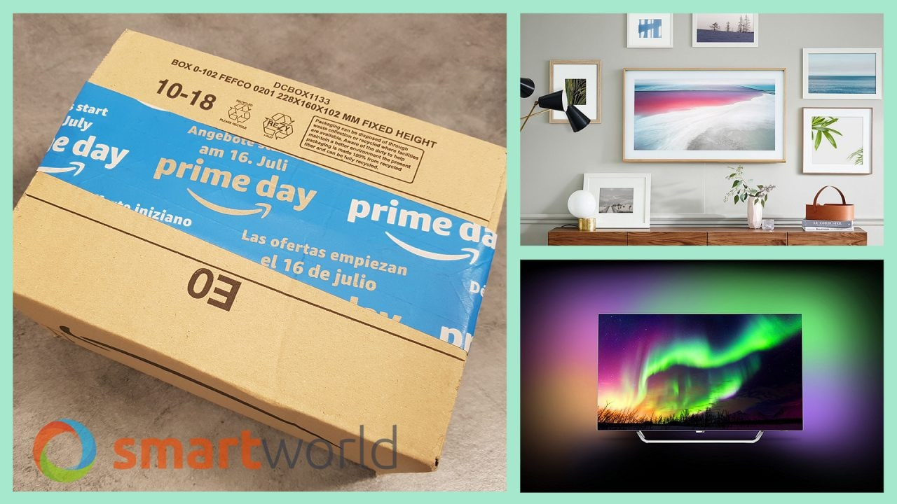 """Migliori TV Prime Day 2018: LG 65"""" 4K a 999€, Samsung 49"""" 4K a 599€ e altre offerte (17 luglio)"""