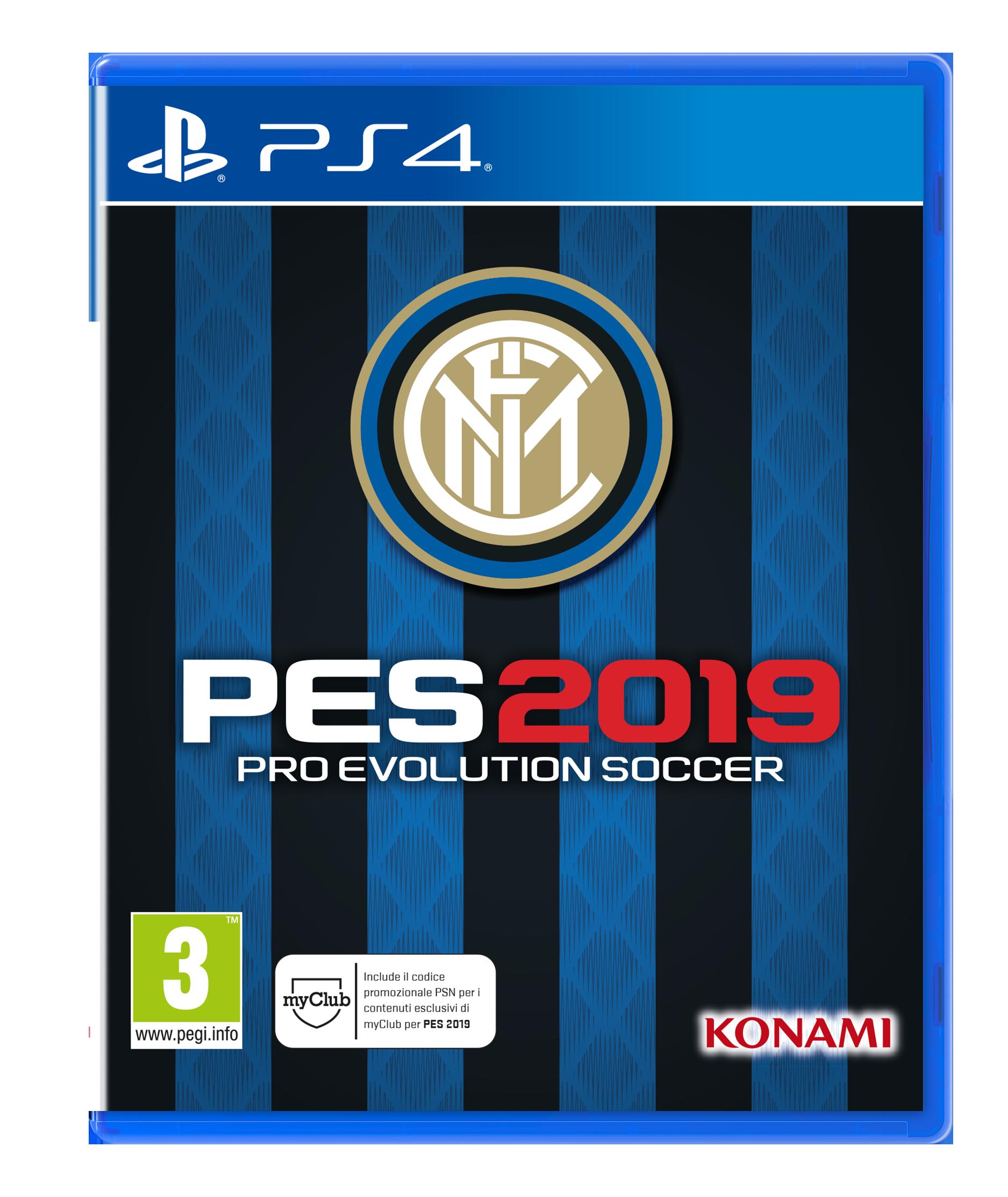 PES 2019 Inter Edition 2D