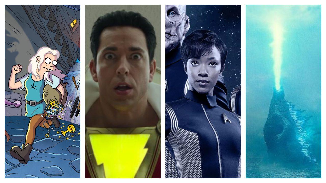 I migliori trailer del Comic-Con 2018: Godzilla 2, Disenchantment, Shazam, Star Trek: Discovery e tanti altri