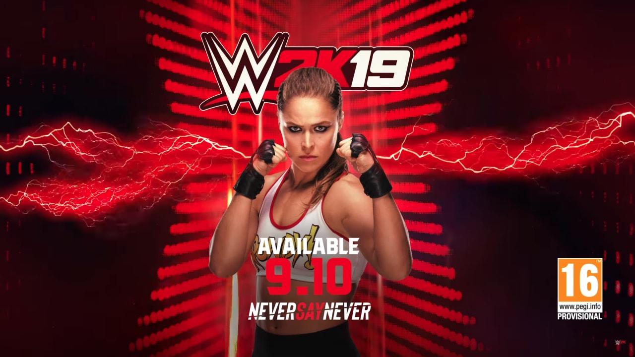 Ronda Rousey debutta in WWE 2K19: è uno dei personaggi bonus insieme a Rey Mysterio