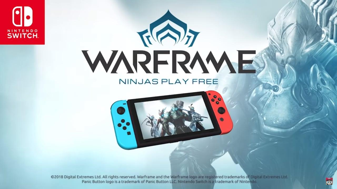 Warframe arriverà ufficialmente su Nintendo Switch!