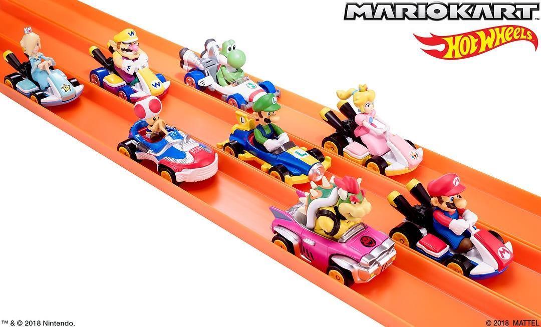 Mamma mia, ma quelle sono le Hot Wheels di Mario Kart!