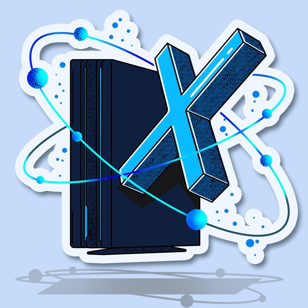 Cosa ci fa un'enorme 'X' al fianco di una PlayStation 4 Pro?