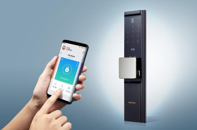 La nuova serratura smart di Samsung si sblocca tramite impronta digitale e ha un'autonomia da far invidia