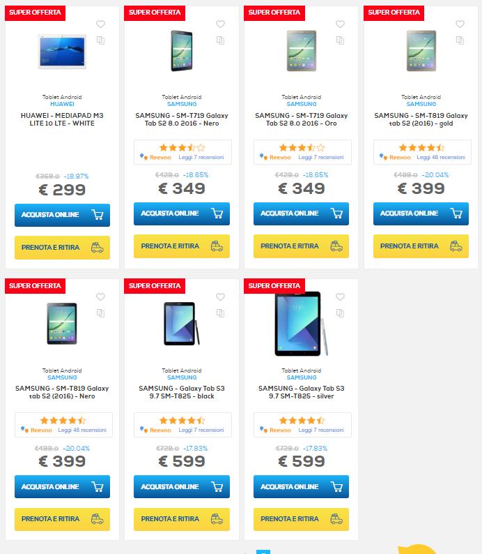 sconti online euronics 2 agosto tablet (1)