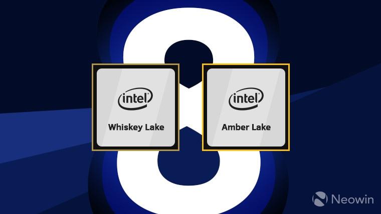 Intel Amber Lake e Whiskey Lake ufficiali: finalmente abbiamo i processori U (di nuovo?) e Y di 8° generazione