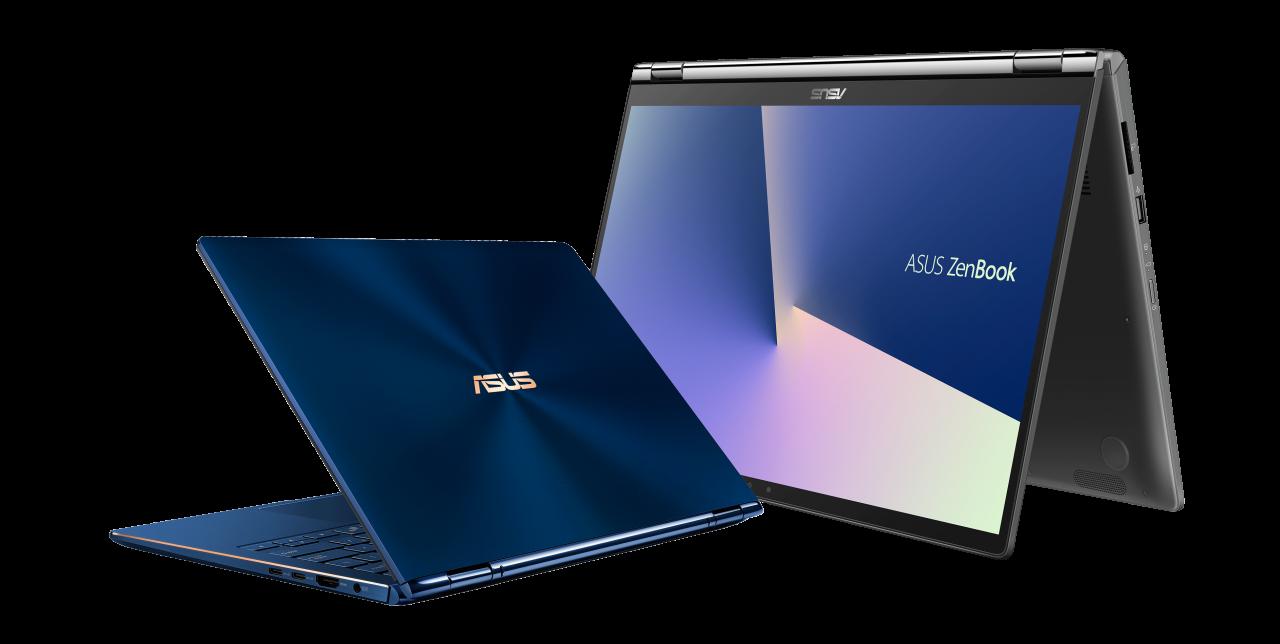 ASUS annuncia a IFA 2018 i nuovi ZenBook Flip: 360° di potenza e resistenza (video e foto)