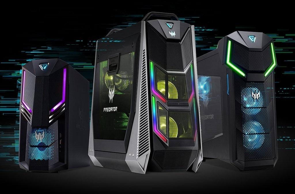 Dell, HP e Acer: i nuovi desktop gaming con le RTX per il gaming fino in 12K!