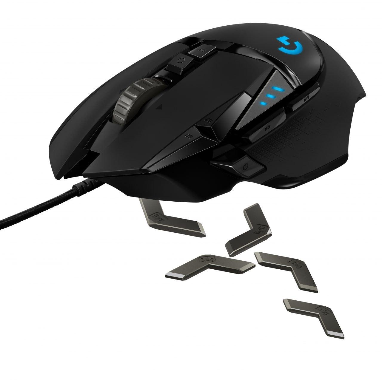 Il già ottimo Logitech G502 si aggiorna con HERO 16K, per migliorare sempre di più (foto)