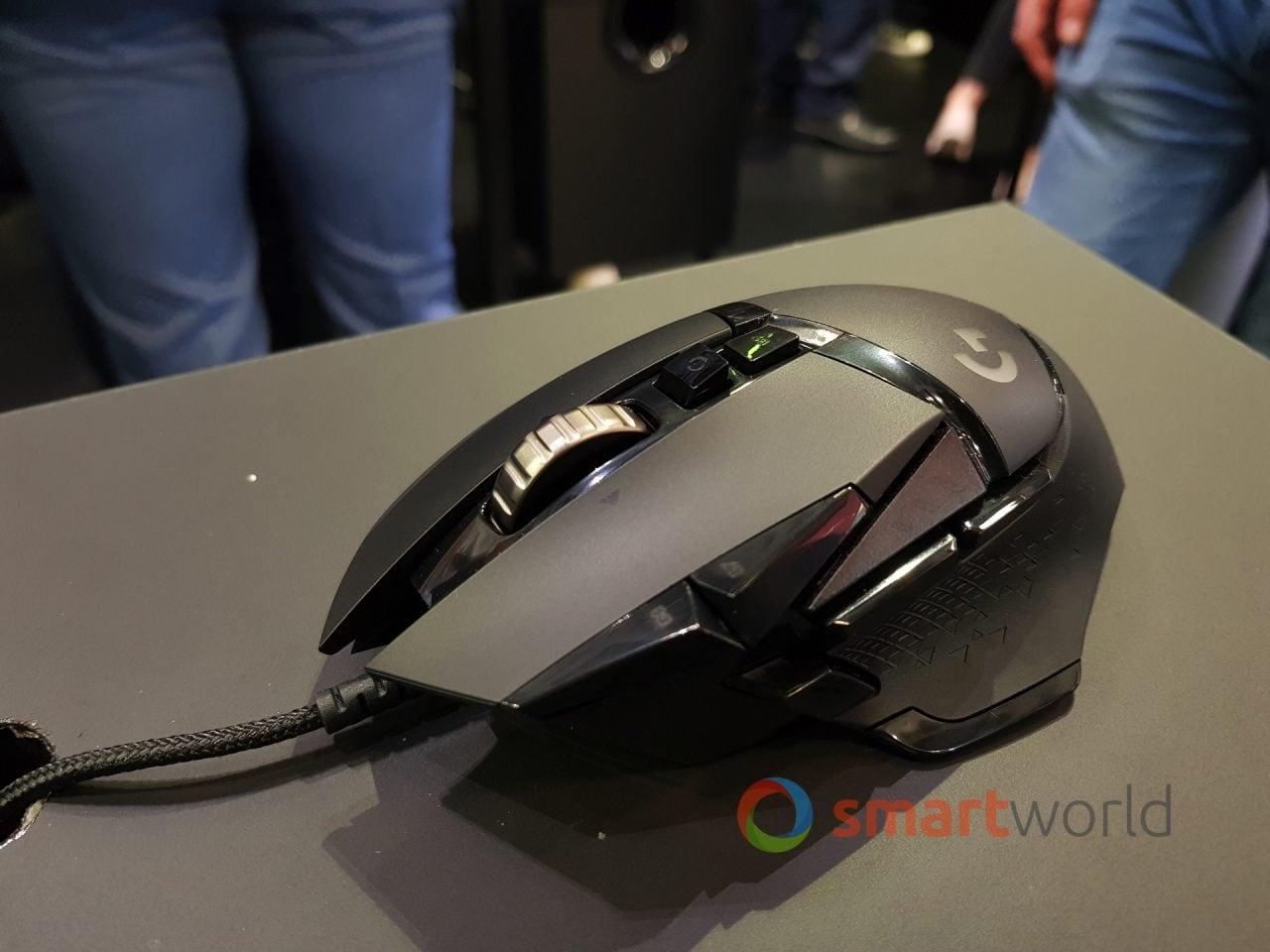 Il già ottimo Logitech G502 si aggiorna con HERO 16K, per