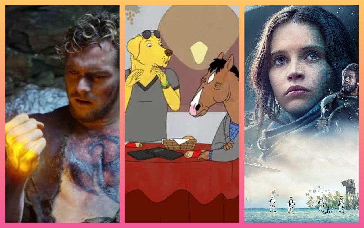 Le migliori novità Netflix in arrivo a settembre: Bojack Horseman, Iron Fist, Inferno, Rogue One