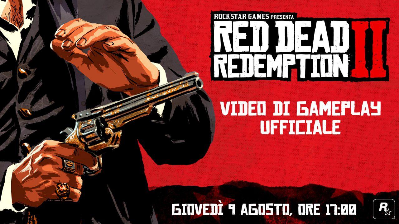 Red Dead Redemption 2: sei minuti di puro hype nel nuovo gameplay trailer ITA!