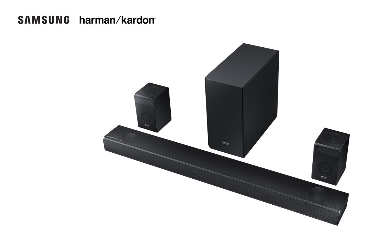 Samsung e Harman Kardon presentano due soundbar per una qualità audio senza compromessi (foto)