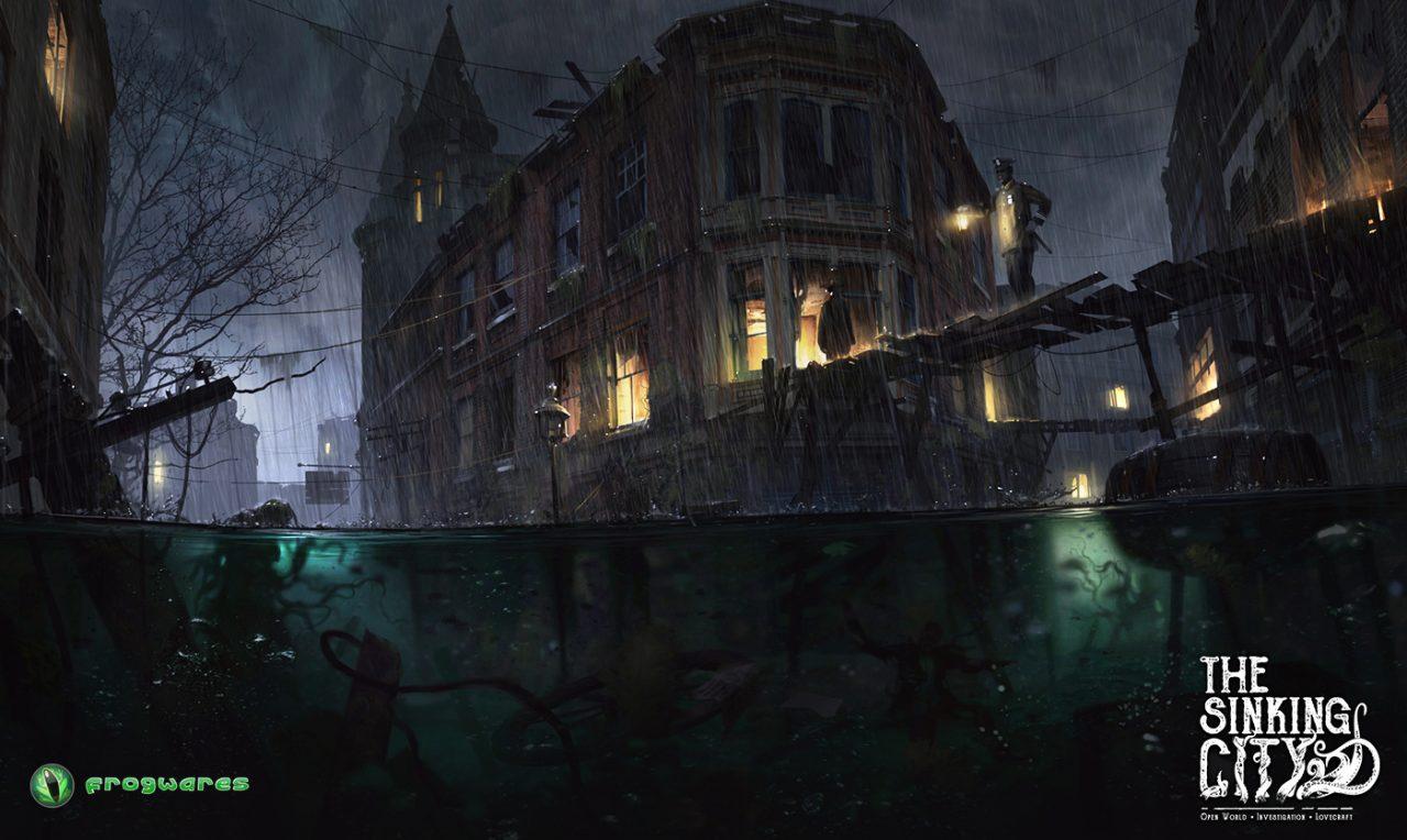 The Sinking City, l'investigativo lovecraftiano si mostra in un nuovo, inquietante trailer