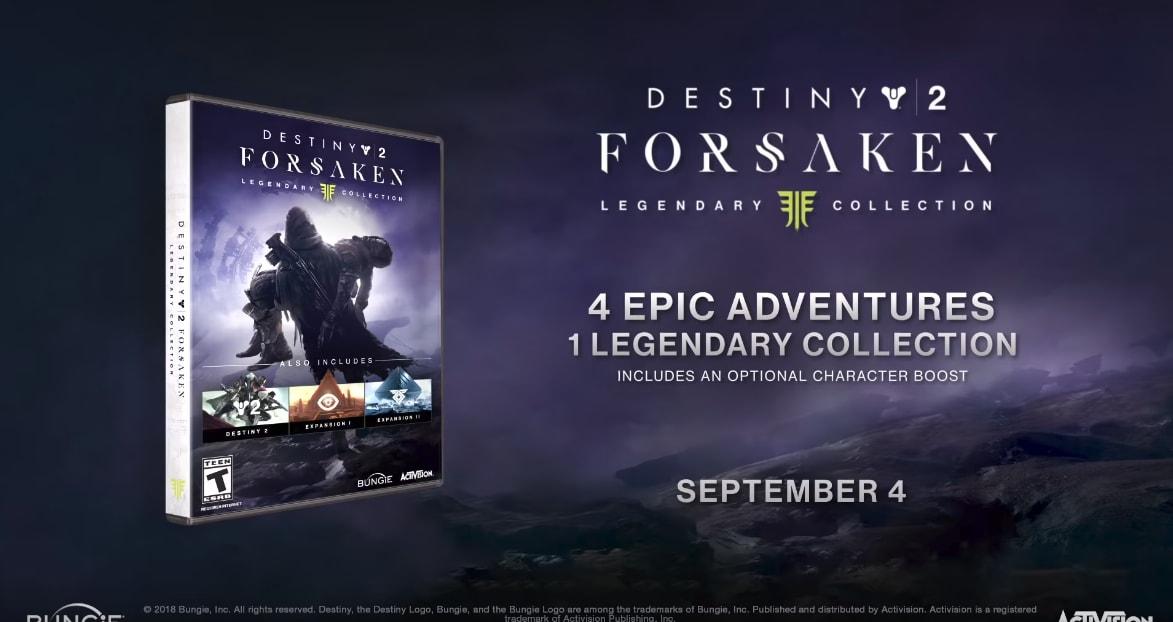 Destiny 2: I Rinnegati - Legendary Collection, 4 avventure epiche in un'unica confezione (già disponibile in digitale!) (video)