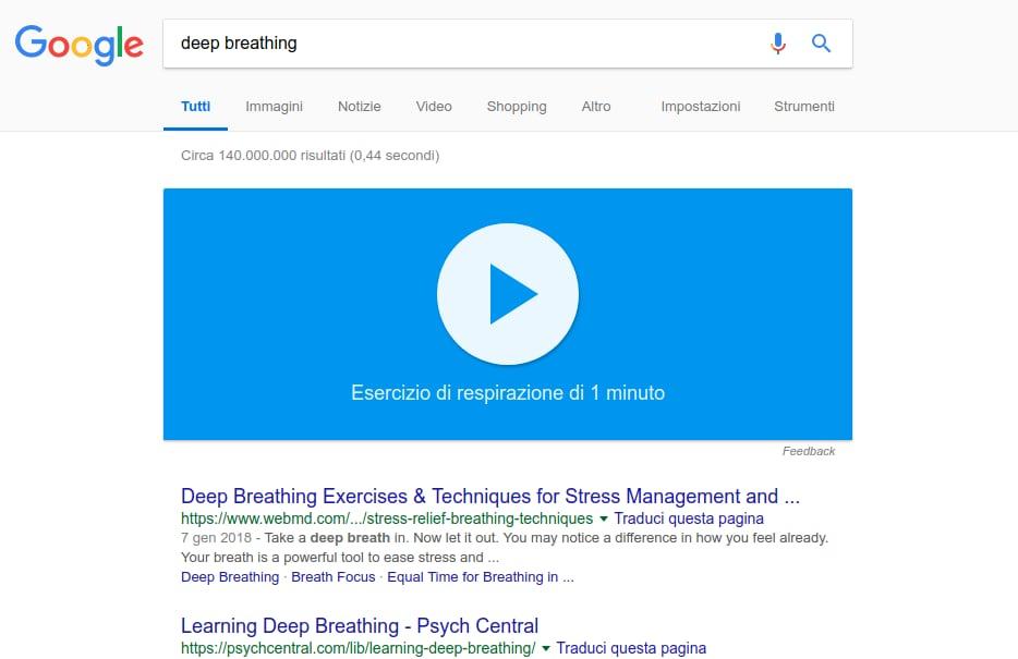 Ora potete chiedere aiuto a Google... anche per respirare! (foto)
