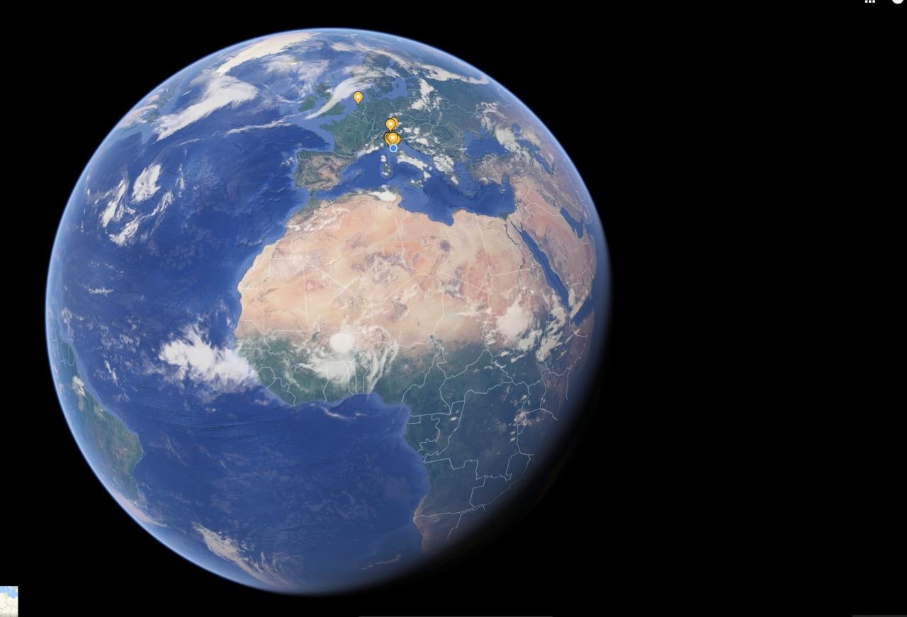 Google Maps gioca a fare Earth: su web le mappe sono adesso su un globo!