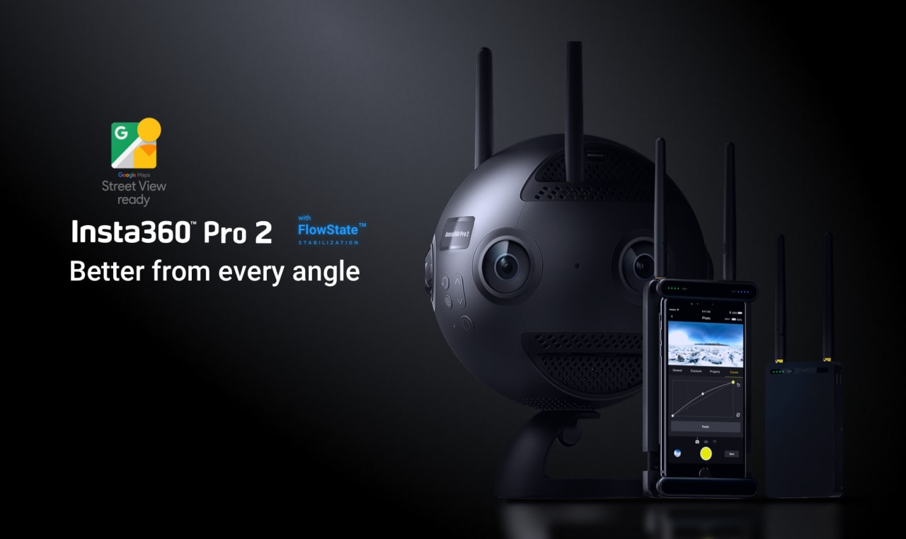 Insta360 Pro 2 cattura video 8K VR di qualità e pronti all'uso (foto e video)