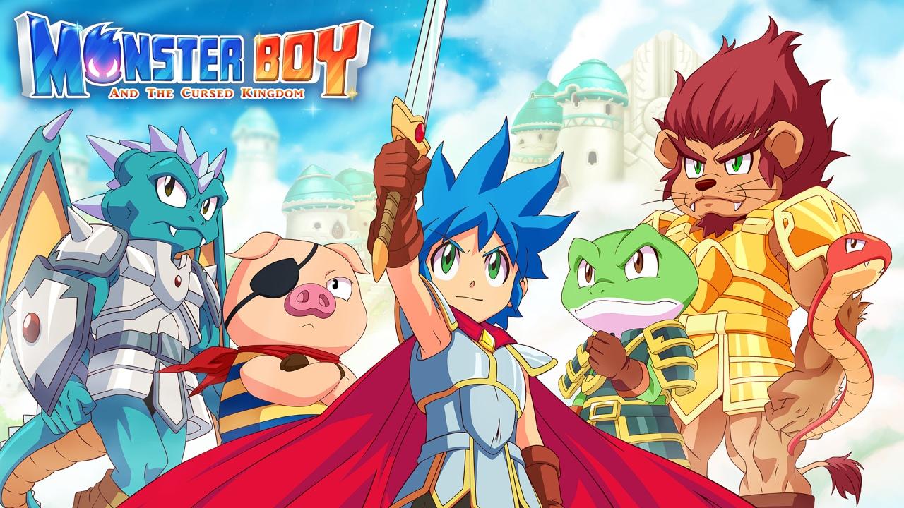 L'arcade a scorrimento non muore mai: Wonder Boy è diventato Monster Boy e ritorna a fine estate (foto e video)