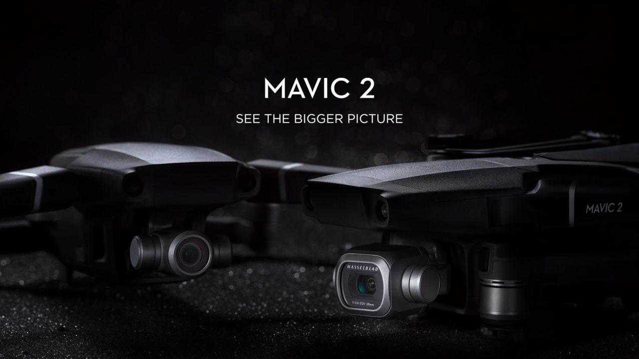 Mavic 2 Pro e Zoom ufficiali: i droni più avanzati mai creati da DJI (foto e video)