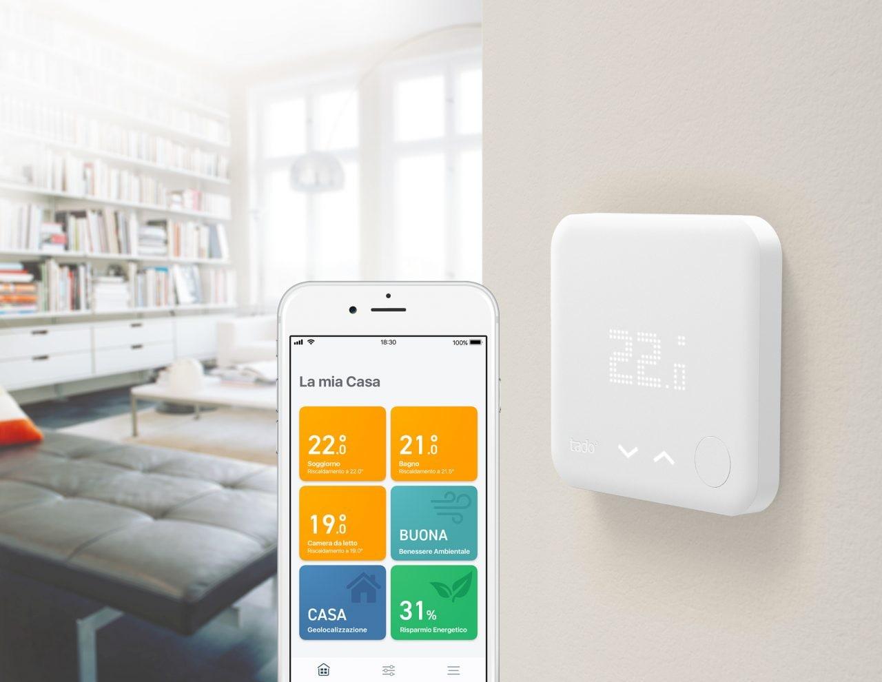 I termostati V3+ di tado° sono sempre più intelligenti: pensano anche al vostro benessere ambientale (foto)