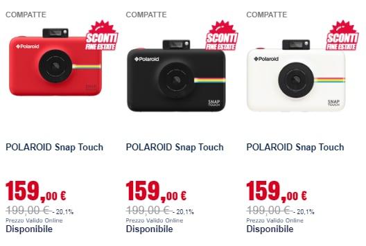 trony prezzi pazzi settembre 2018 fotocamere (1)
