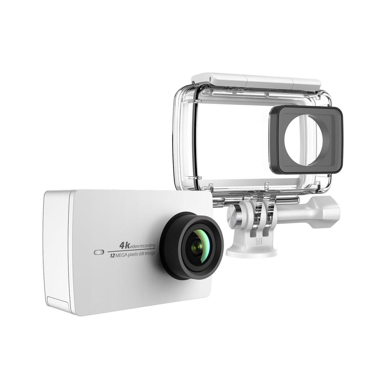 Yi Camera 4K a 130€ con custodia impermeabile: un codice sconto da non perdere!