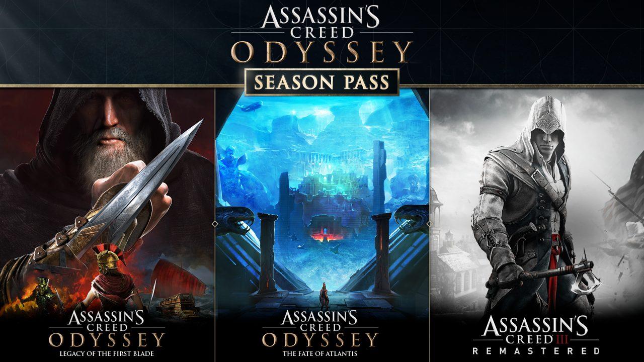 Assassin's Creed Odyssey sarà più ricco che mai: Season Pass con contenuti esclusivi e la remastered di AC III