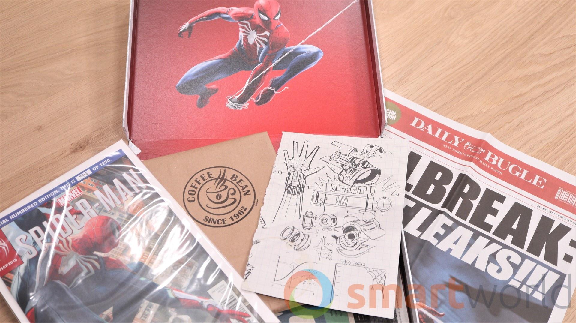 Marvel's Spider-Man Media Kit Unboxing (9)