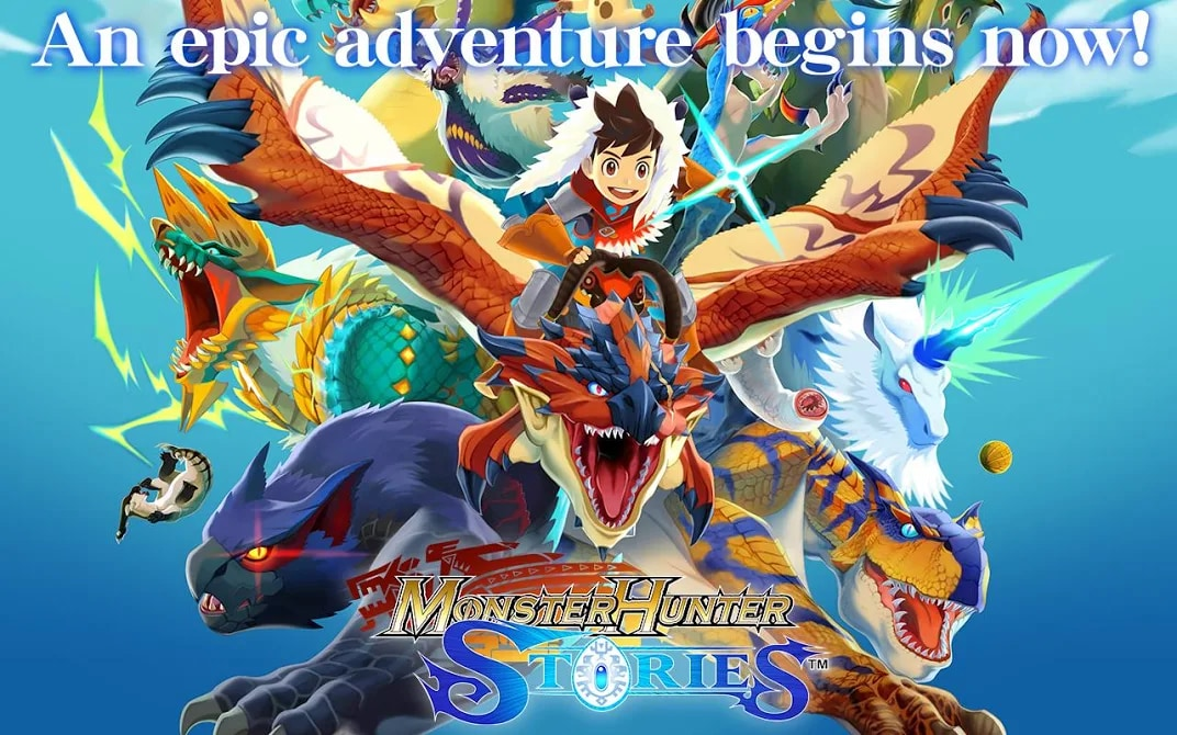 Monster Hunter Stories: l'RPG per 3DS di Capcom arriva anche su Android e iOS, potete provarlo gratuitamente!