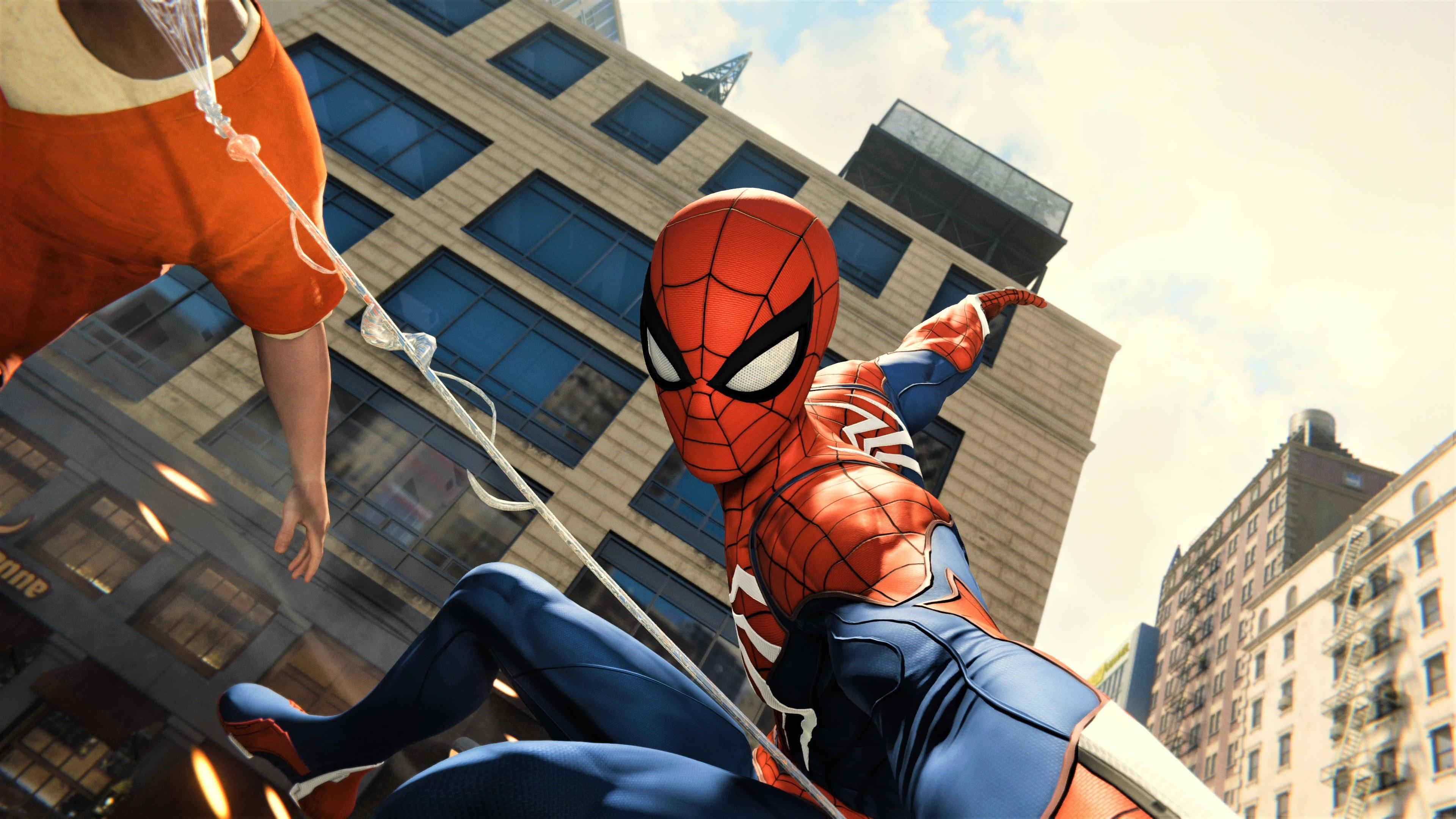 Spider-Man PS4 Wallpaper 4K (13)