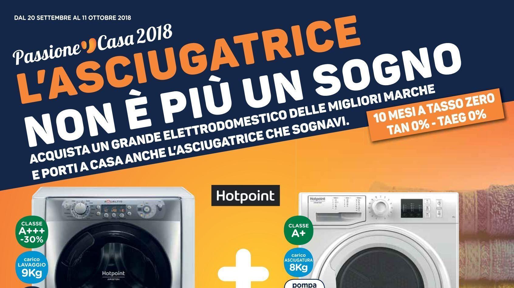 Volantino unieuro l 39 asciugatrice non pi un sogno 20 for Regalo mobile tv